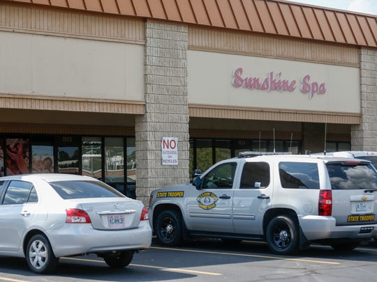 Sunshine Spa at 1925 S Glenstone Ave. is one of more than a dozen Asian massage parlors in Greene County raided as part of a sex trafficking probe in 2017.