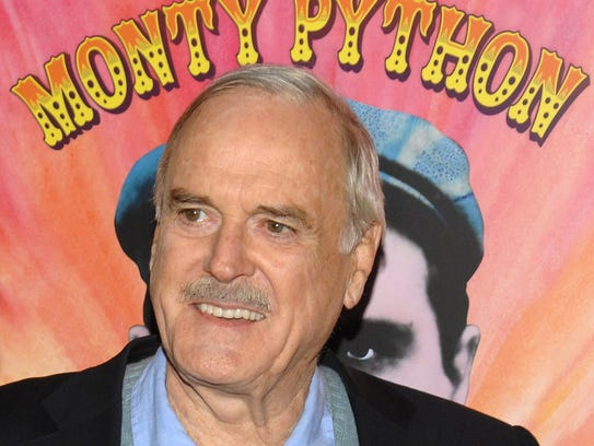 Actor John Cleese attends the IFC and BAFTA premiere