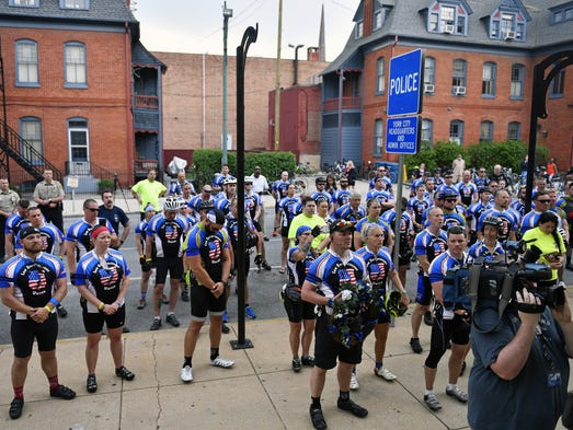 Police Unity Tour Baltimore