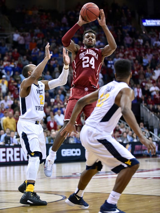 NCAA Basketball: Big 12 Conference Tournament-West Virginia vs Oklahoma