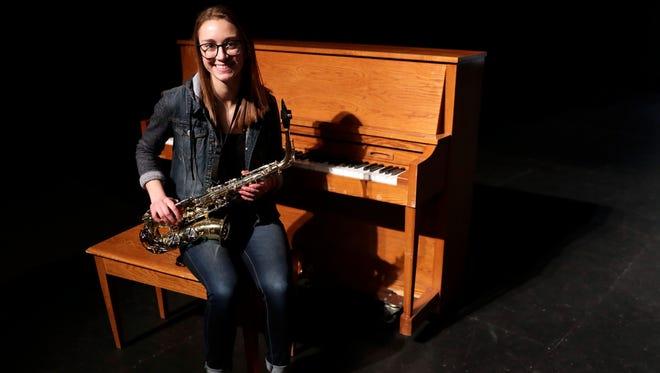 Samantha Weinfurter of Luxemburg-Casco High School was named to the Green Bay Press-Gazette 2018 Academic Team.
