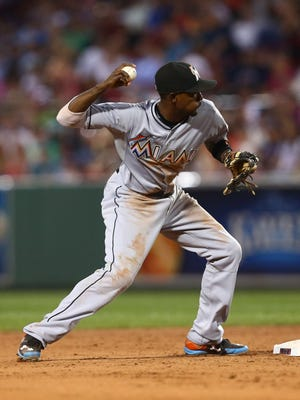 Dee Gordon has not played since dislocating his left thumb on July 11.