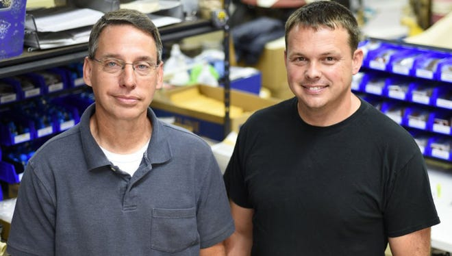 Matthew Goins and his son, Allen Goins, of Blue Chip Picks are part of a small business with fewer than 10 employees that has made a name for itself worldwide.