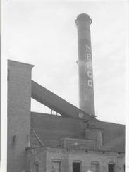 The Nepco Chimney is owned by DMI Acquisitions and