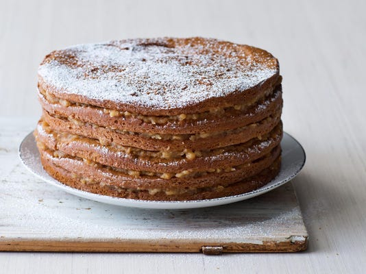 Almost Naked Apple Cake Sure To Be A Hit