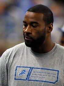 Lions WR Calvin Johnson