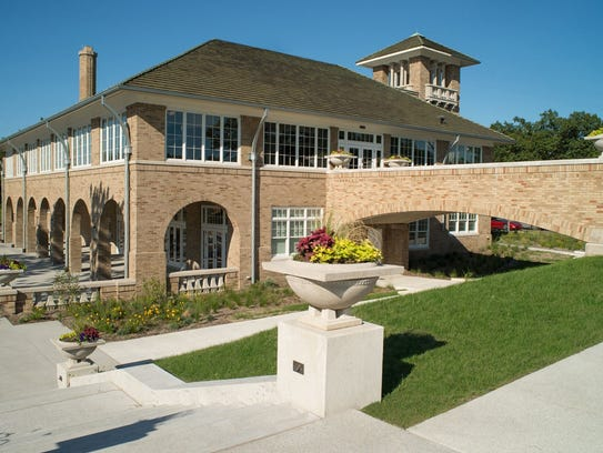 The restored Recreation Pavilion in Gary's Marquette