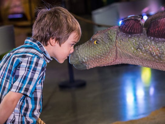 "Families can enjoy New Year's Eve at ""Dinosaur Time"