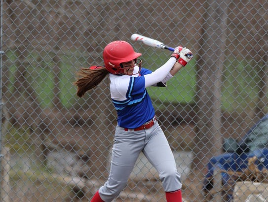 Senior second baseman Victoria Catalano is one of the
