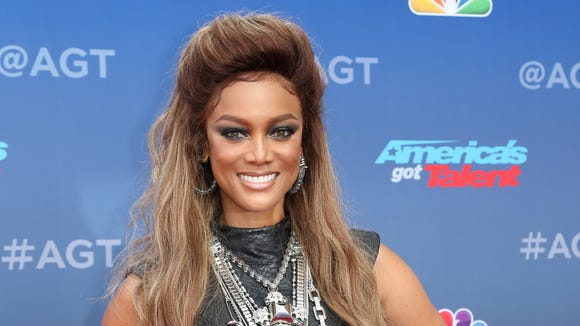 Tyra Banks arrives at the 'America's Got Talent' Season