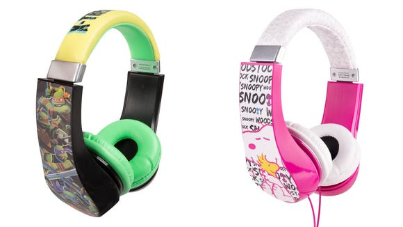 Volume limiters protect kids' ears.