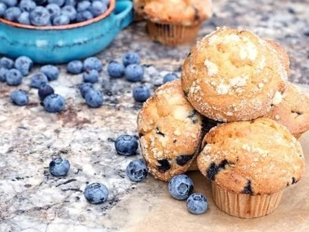 Blueberry recipes worth making - delicious treats, and even blueberry entrees.