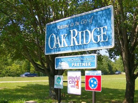 Screen grabs of Erwin Corwin's hometown in Oak Ridge, Tennessee.