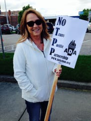 Bonnie Winther of Waterloo is a union representative