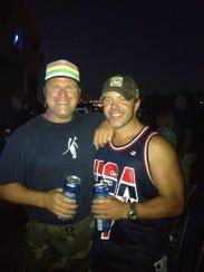 Matt (l) and Tim Harmon, owners of Salt, a Belmar bar