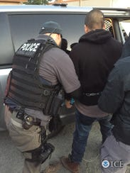 ICE agents arrested 54 people across seven Central