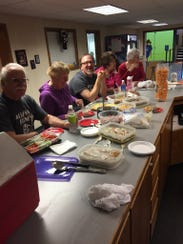 Members of the Senior Fitness Class at Access Fitness