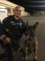 Officer J. Melendez and Johnny Cash