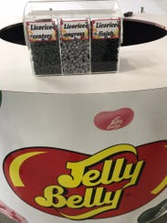 Jelly Belly tasting station
