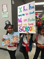 Charles Burke Elementary held its annual book character