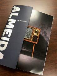 "A program for ""The Twilight Zone"" at the Almeida Theatre"