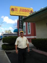 Felix Ortega opened El Jardin on North Court Street.
