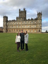 A visit to Highclere Castle, featured in Downton Abbey.