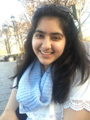 Ravina Sachdev, a Brookfield Central High School student smiles proudly. The student and a group of people from Waukesha County are holding an Evening of Solidarity to honor gun violence victims from 5 p.m. to 7 p.m. May 30, at Mitchell Park,19900 River Road.