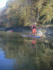 Middle River near Winterset is a great river to paddle