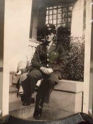 World War II veteran Vernon Clark of Richmond will