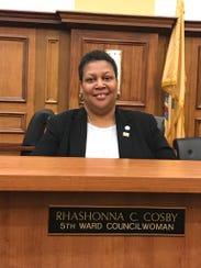 Linden Councilwoman Rhashonna Cosby