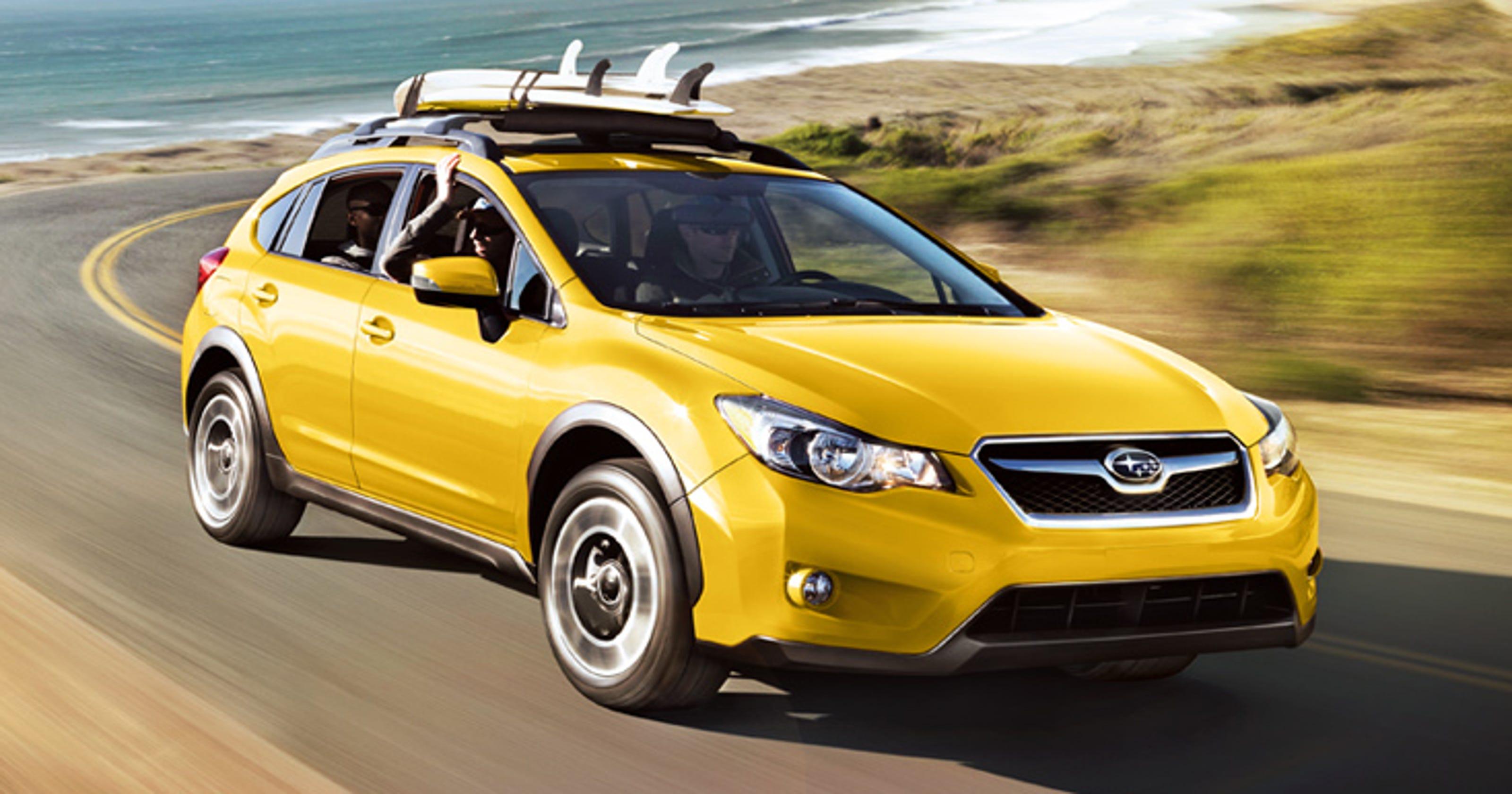 Subaru Bill Pay >> Subaru XV Crosstrek's yellow edition isn't mellow
