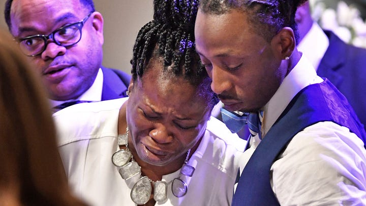 Waffle House shooting witness who watched brother die sues suspect's father