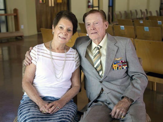 Ruth Calabro and her fiancee, Jack Holder, a WWII veteran,  share their story about being swindled out of $43, 000.