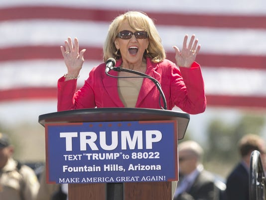 Trump surrogates Brewer, Sessions