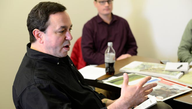 Allen Fore, Allen Fore, Kinder Morgan's vice president of public affairs, said the company continues to refine the route of the Utopia East pipeline, which will run through Sandusky County.