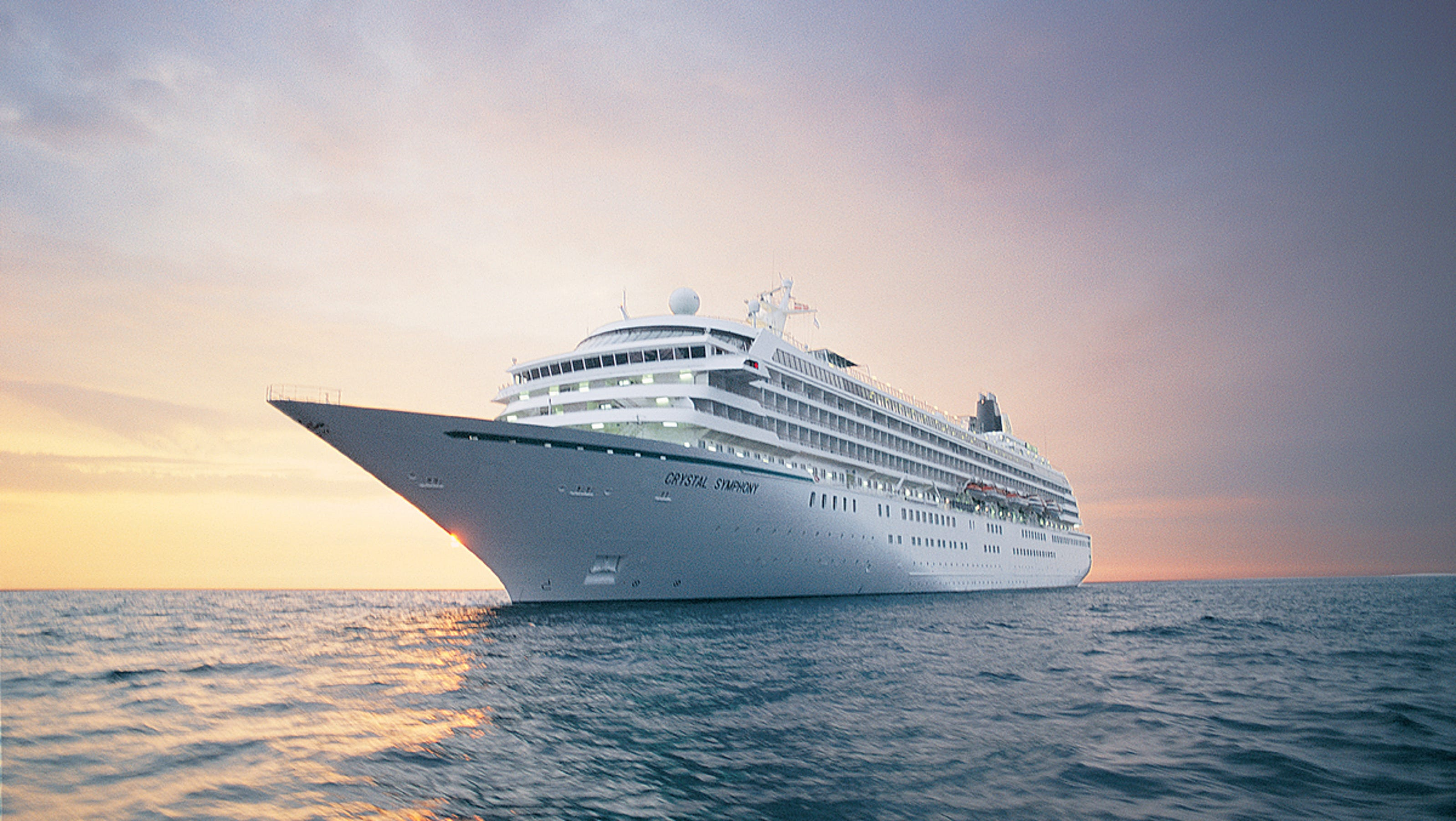 Luxury ship crystal symphony emerges from makeover for Best cruise to take
