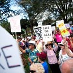 Photos: Affordable Care Act repeal protest
