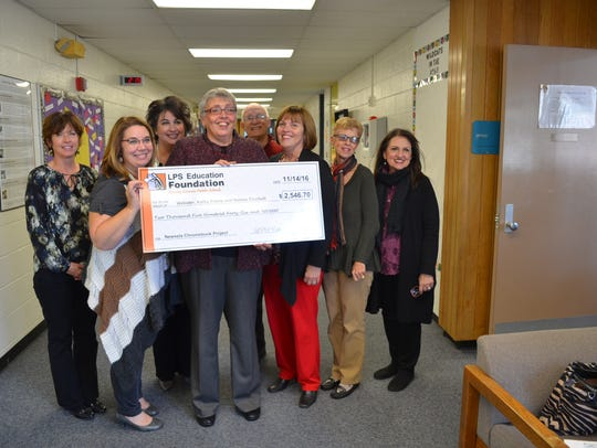 Kathy Frame and Natalie Cicchelli received a grant