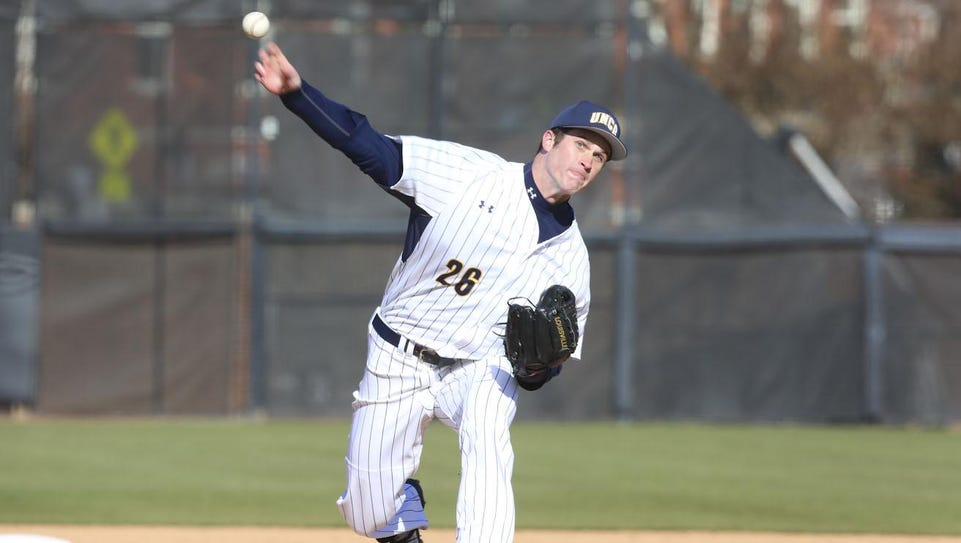 Johnson City High graduate and UNC Greensboro pitcher