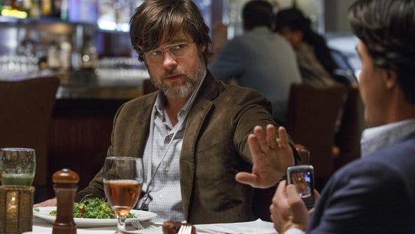 "Brad Pitt plays Ben Rickert  in ""The Big Short."""