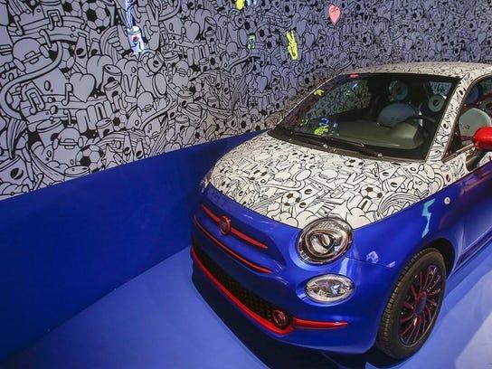 Car-bonated Fiat 500