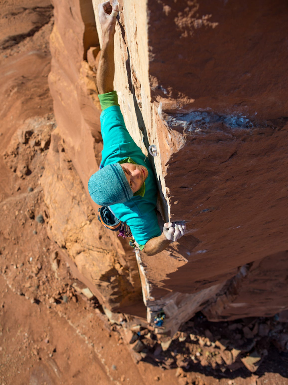 Chris Kalous & Sam Lightner Jr, The Ivory Tower 5.13b,