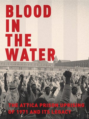"This cover image released by Pantheon shows ""Blood in the Water: The Attica Prison Uprising of 1971 and Its Legacy,"" by Heather Ann Thompson. The book was awarded the Pulitzer Prize for history on Monday, April 10, 2017."