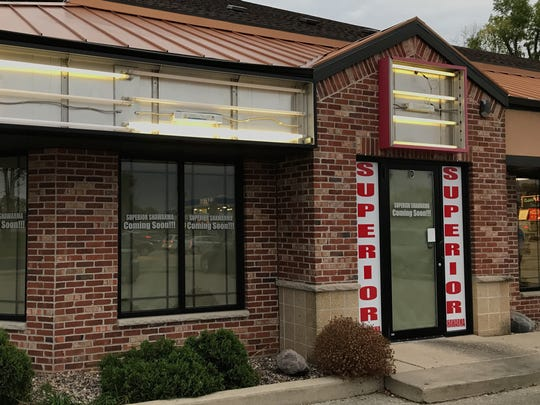 Taste of the Windy City signs are gone and Superior Shawarma signs are going up at 3402 N. Richmond St. in Appleton.