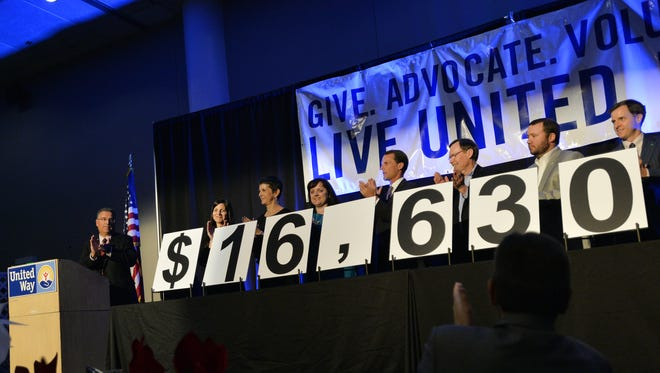 The United Way of Greenville County raised a record-setting $16,630,463 during its 2014 campaign. The United Way of Greenville raised a record setting $16,630,463 that was revealed during the 2014 Campaign. The organization is making a final effort toward its $17 million goal for the 2015 campaign by launching the #IGaveHere mobile campaign.