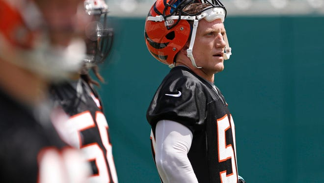 Former Ohio State All-Ameica linebacker A.J. Hawk, saw his last meaningful NFL action with the Cincinnati Bengals in the state where he got his start. Hawk officially retired after 11 NFL seasons this week, leaving the game as the Green Bay Packers' all-time leading tackler.
