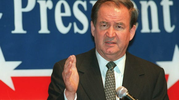 Far from being something new, Buchanan ran on the same grievances as Trump.