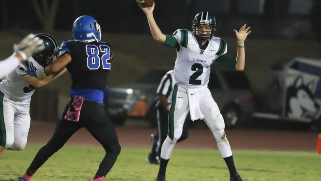 El Diamante junior quarterback Parker Boswell is expected to resume his duties as the team's starting signal-caller.