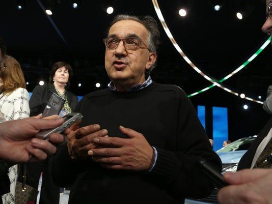 FCA CEO Sergio Marcionne